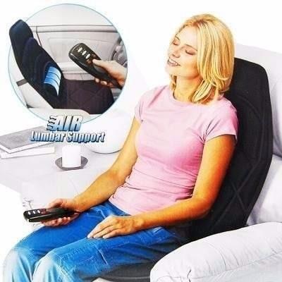 silla masajeadora columna portatil auto casa mueble espalda