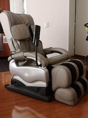 silla masajeadora de cuerpo completo reclinable