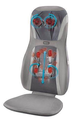 silla masajeadora homedics mcs-8840 shiatsu lumbar calor