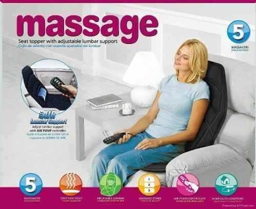 silla masajeadora portatil para auto o casa +delivery