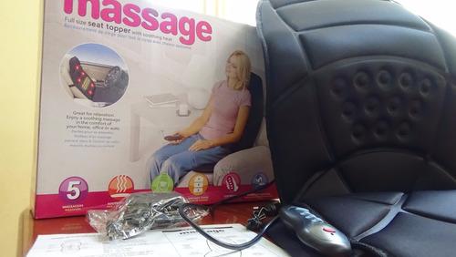 silla massage 5 masajeador portatil para auto,casa+ control