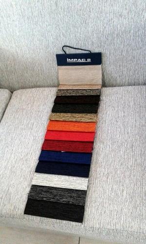 silla matera poltrona telas colores lisos rayados tapizada