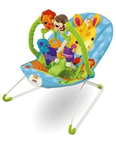 silla mecedora animales de color fisher price