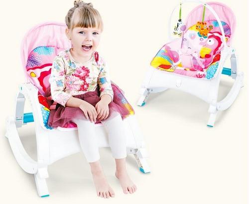 silla mecedora bebé artículo con mesa