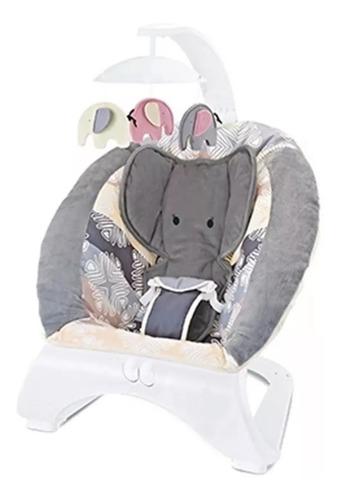 silla mecedora bebe elefante zaki vibra juguetes cuotas
