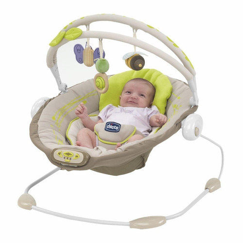 silla mecedora bebé hamaca