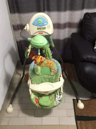 silla mecedora columpio fisher price