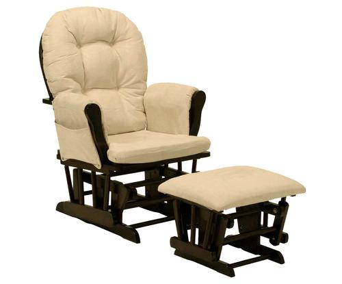 silla mecedora con descansa pies onof sillon arrullador