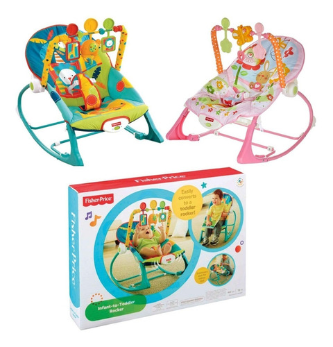 silla mecedora crece conmigo bebe fisher price elige color