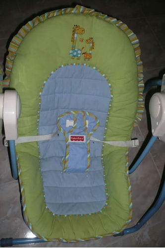 silla mecedora de bebé unisex fisher price