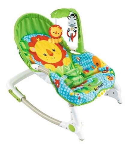 silla mecedora felcraft hasta 18kg posiciones  y vibración