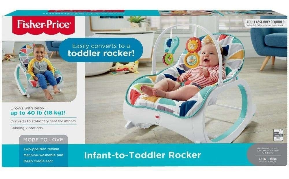 862dec18a silla mecedora fisher price bebés vibradora niños rocker. Cargando zoom.