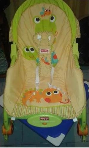 silla mecedora fisher price.. mecedora y vibradora para bebe