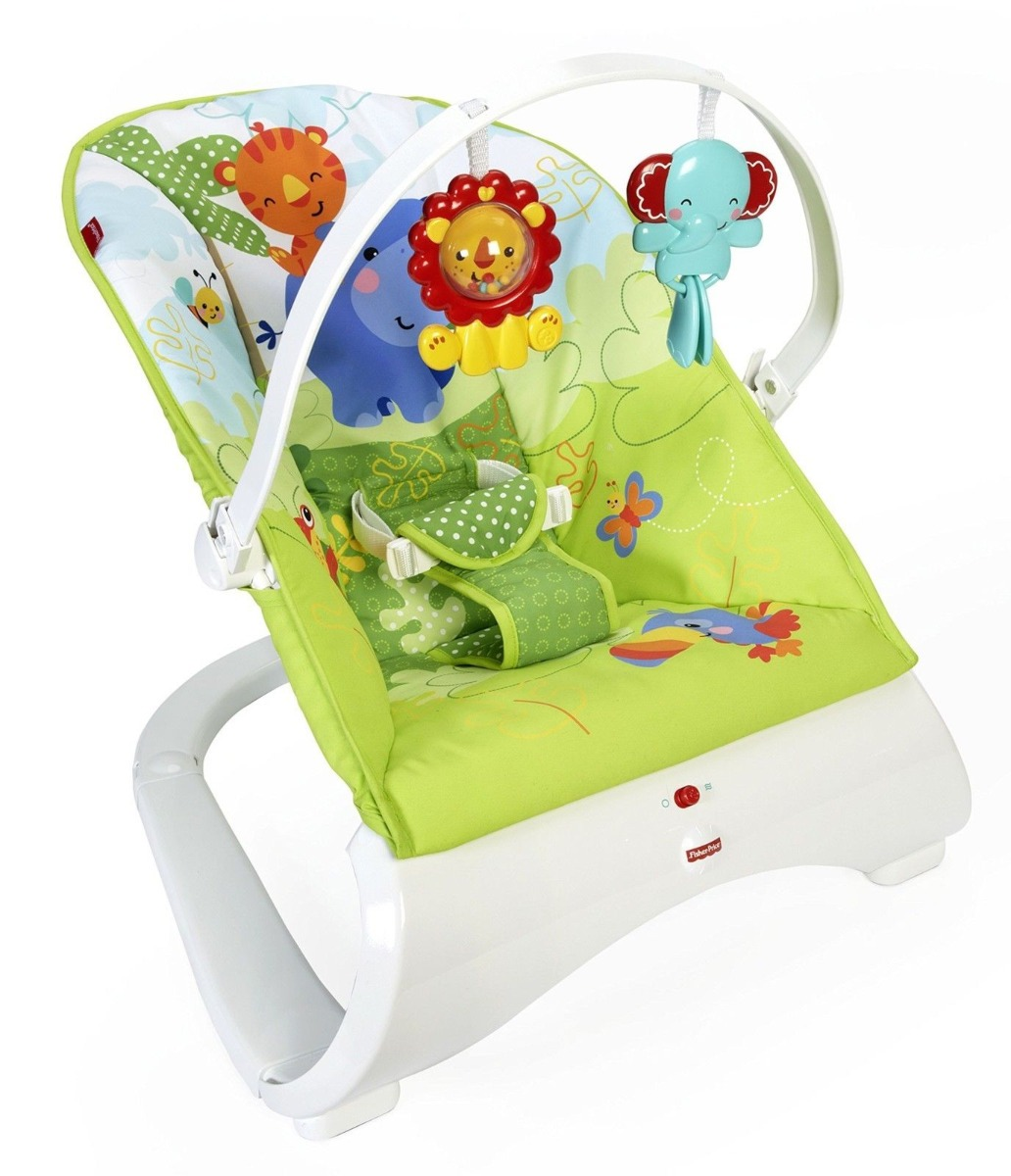 983eff92e Silla Mecedora Fisher Price Rainforest - $ 1.800,00 en Mercado Libre