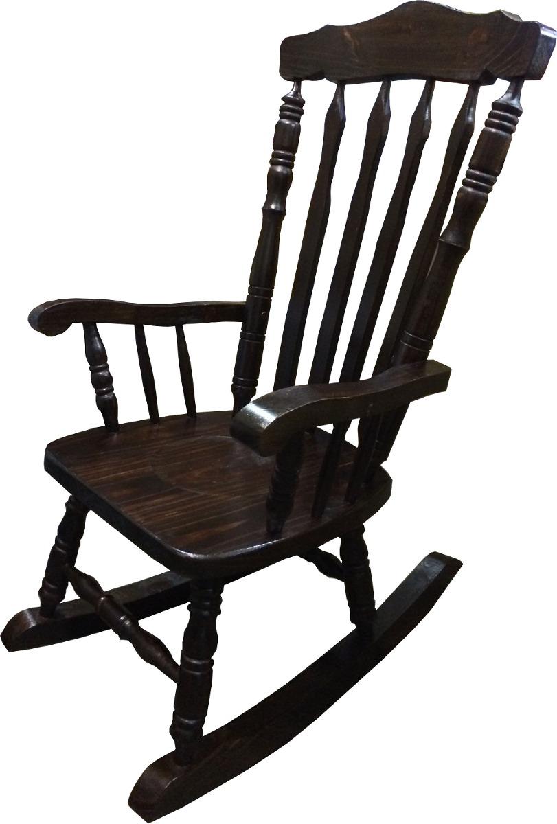 silla mecedora madera dormitorio living poltrona