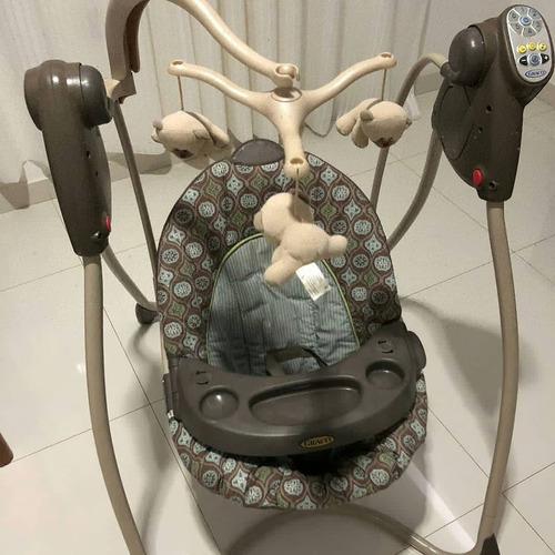 silla mecedora marca graco como nueva