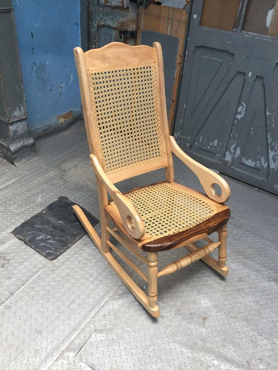 3707481f9 Silla Mecedora Momposina Mimbre Solo Bogotá - $ 199.900 en Mercado Libre