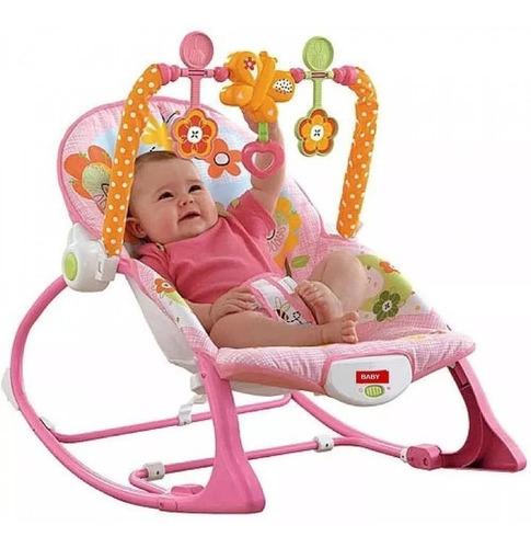 silla mecedora para bebe 0 a 4 años. musical y vibraciones