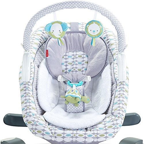 Silla mecedora 4 en 1 fisher price para bebe for Silla mecedora para bebe