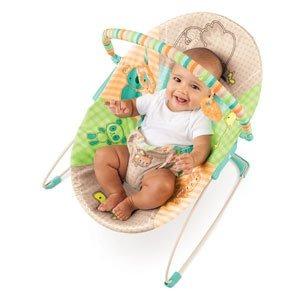 Silla mecedora para beb bright starts patchwork zool gico for Silla mecedora para bebe