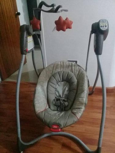 silla mecedora para bebé marca graco