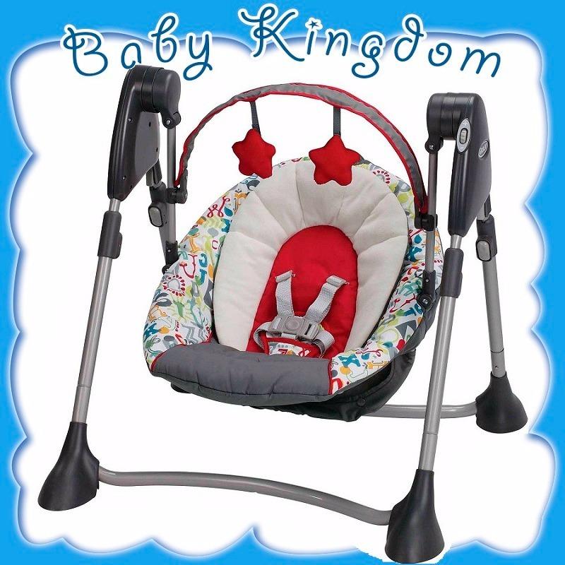 Silla Mecedora Para Bebe Recien Nacido Graco Portatil Nueva