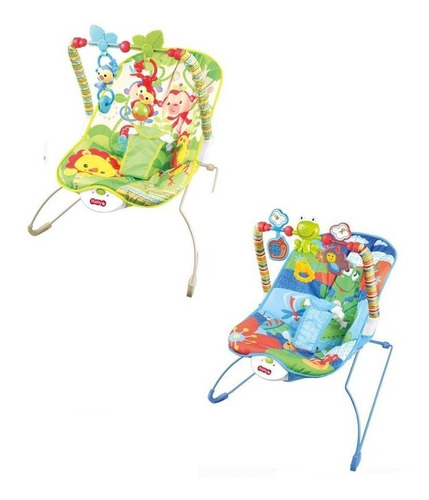 silla mecedora para bebes con movil vibracion y musica 20lb
