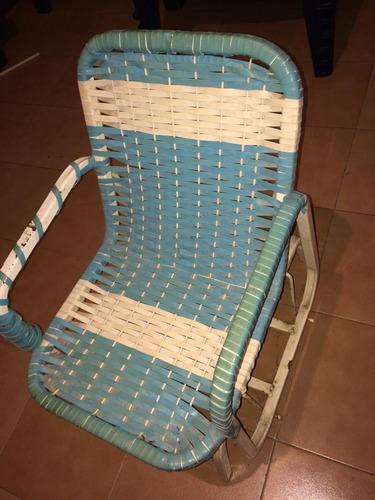 silla mecedora para niños