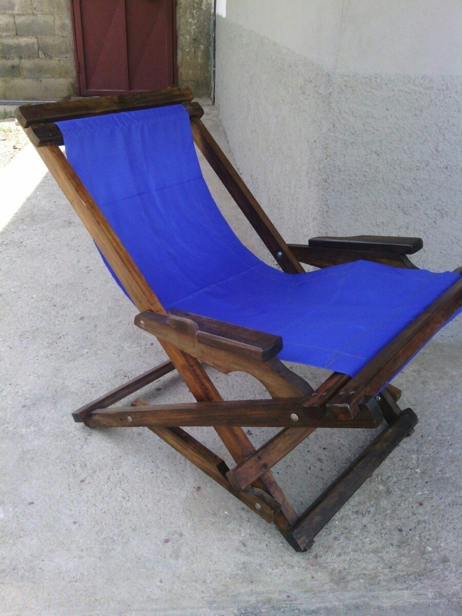 Silla mecedora plegable 100 madera comodidad y confor bs en mercado libre - Mecedora plegable ...