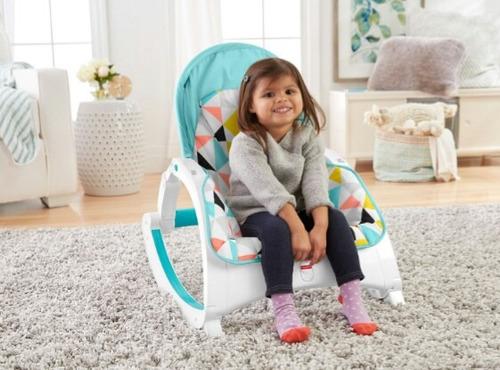silla mecedora portatil crece conmigo fisher price para bebe