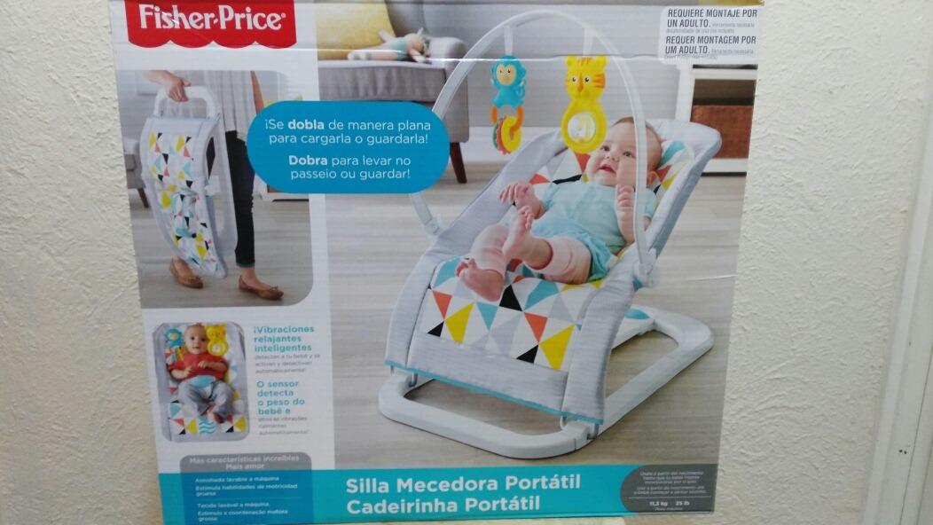 a482683c3 Silla Mecedora Portátil De Fisher Price - $ 1,398.00 en Mercado Libre