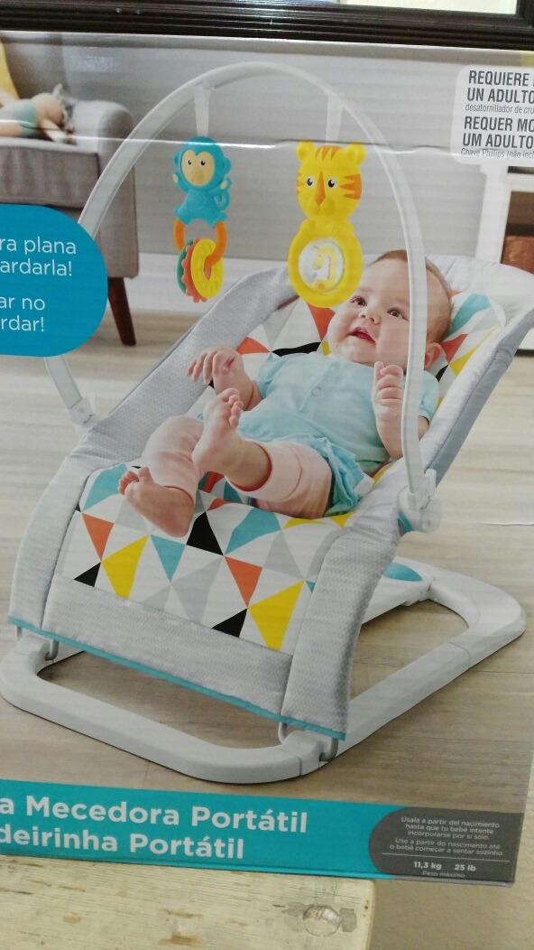 5881d6dd9 Silla Mecedora Portátil De Fisher Price - $ 1,750.00 en Mercado Libre