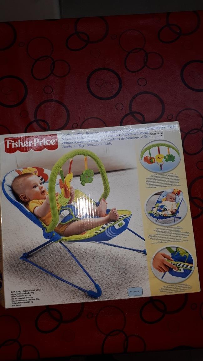 11998f9f6 Silla Mecedora Relajante Fisher Price - $ 2.000,00 en Mercado Libre