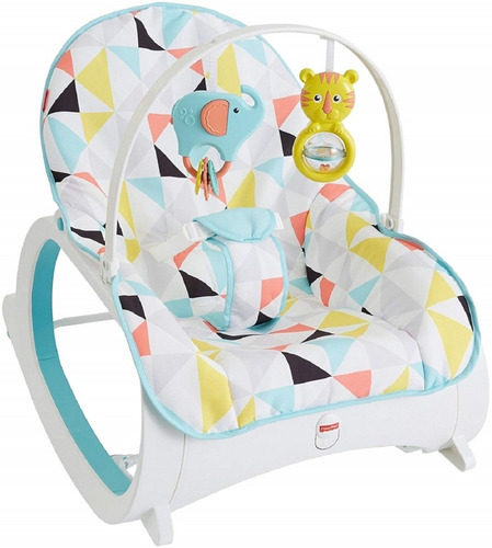 silla mecedora vibradora bebe unisex fisher price