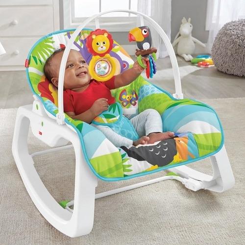 silla mecedora vibradora crece conmigo fisher price bebe