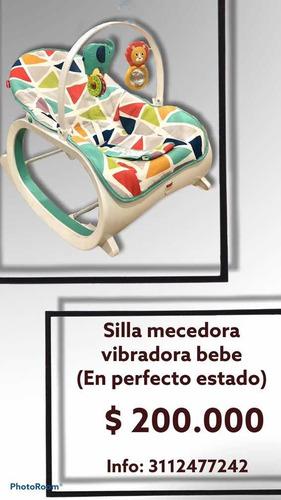 silla mecedora vibradora fisher - unidad a $200000