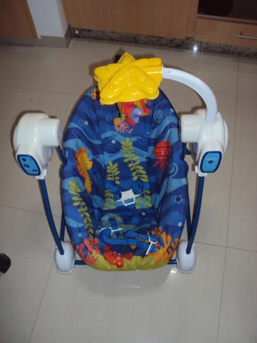 silla mecedora y vibradora fisher price