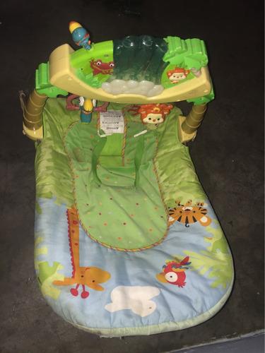 silla mecedora/masajeadora fisherprice musical