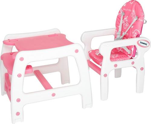 silla mesa de comer para bebe,3 en 1 escritorio,mecedora