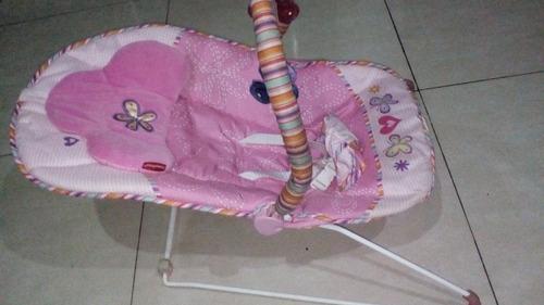 silla mesedora baby fisher price