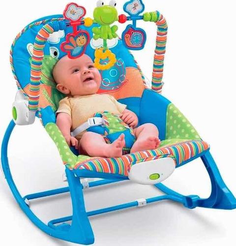 silla mesedora bebés antirreflujo vibradora musical