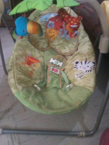 silla mesedora  fischer price para bebe