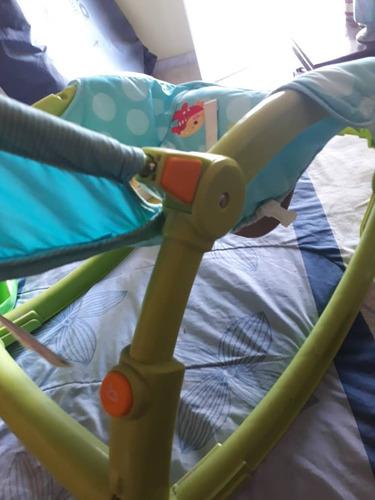 silla mesedora fisher price para bebes