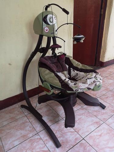 silla mesedora para bebe fisher price