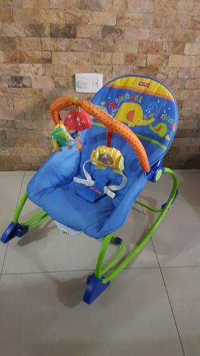 silla mesedora para bebes y niños fisher-price® importada