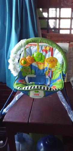 silla mesedora vibradora marca fisher price