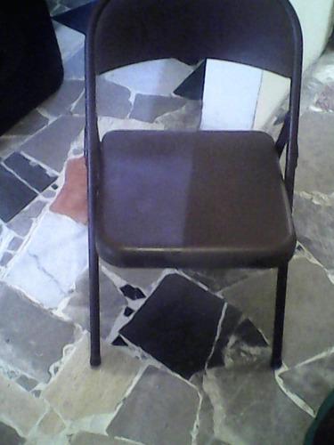 silla metalica excelentes condiciones