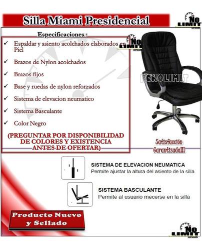 silla miami presidencial, oficina sala pcnolimit mx