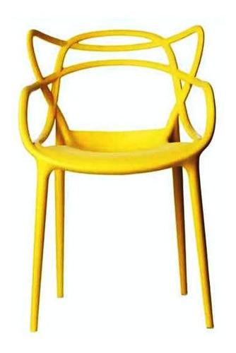 silla moderna diseño starck comedor o exteriores-cod pp828