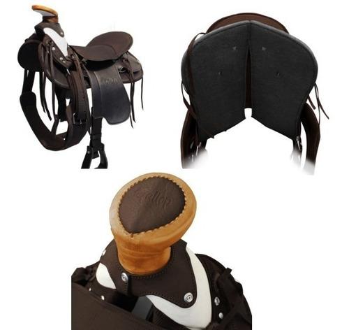 silla montar mustad lujo c/acces inoxidable envio gratis